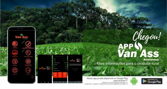 Van Ass Sementes lança seu primeiro aplicativo