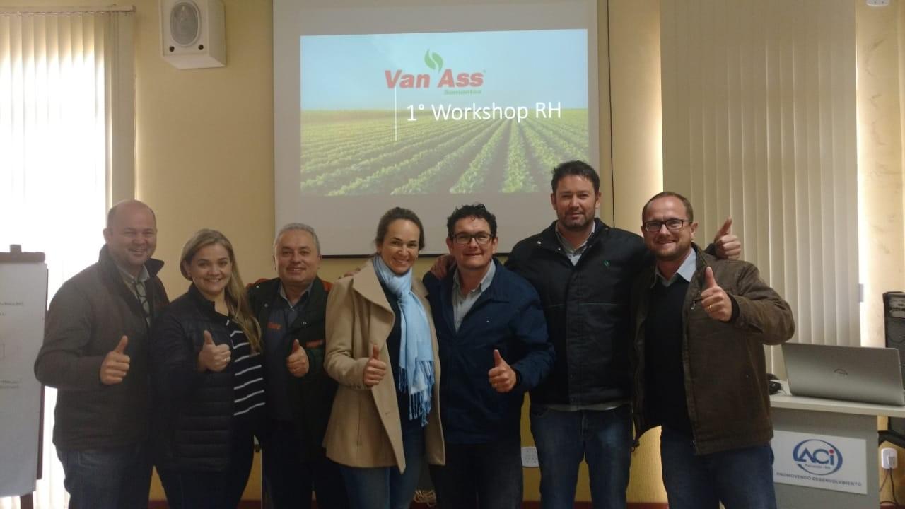 Grupo Van Ass realiza Workshop de Recursos Humanos