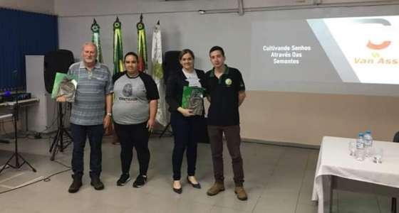Van Ass Sementes participa da Semana ACCs do Curso Superior de Tecnologia em Produção de Grãos do IFFAR Panambi
