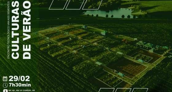 Encontro Tecnológico Van Ass Sementes Culturas de Verão: inovação e dinamismo
