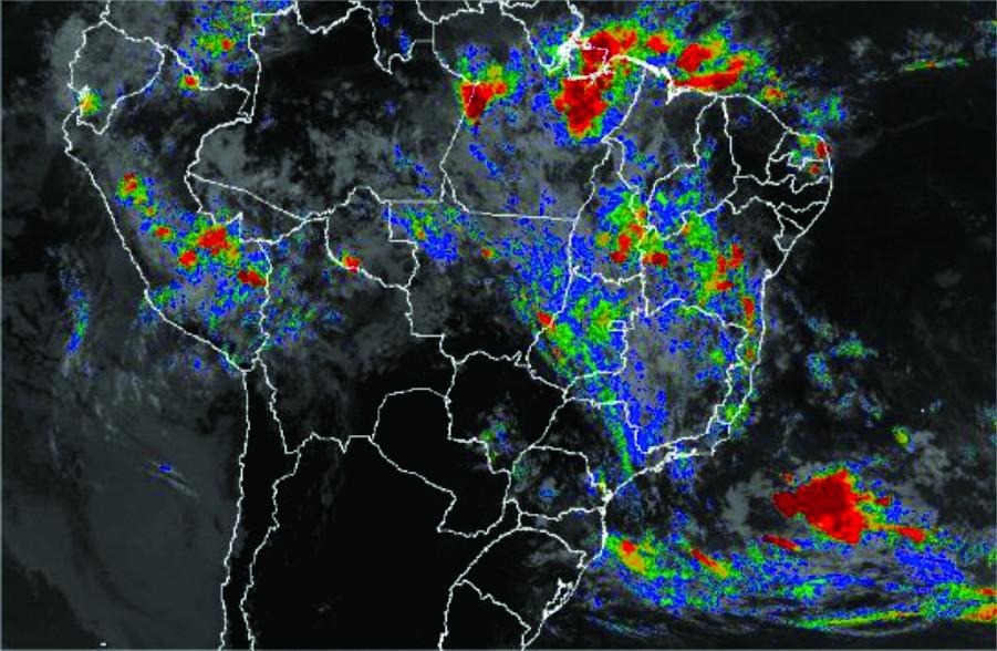 Tempo: Sapezal (MT) tem acumulados de mais de 200 mm no sábado (16) e chuvas seguem pelo Centro-Oeste