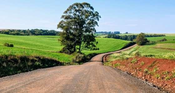 Granja Limburgia terá acesso asfaltado