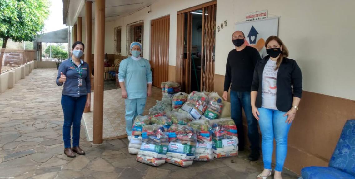 Grupo Van Ass realiza doações em sua área  de atuação