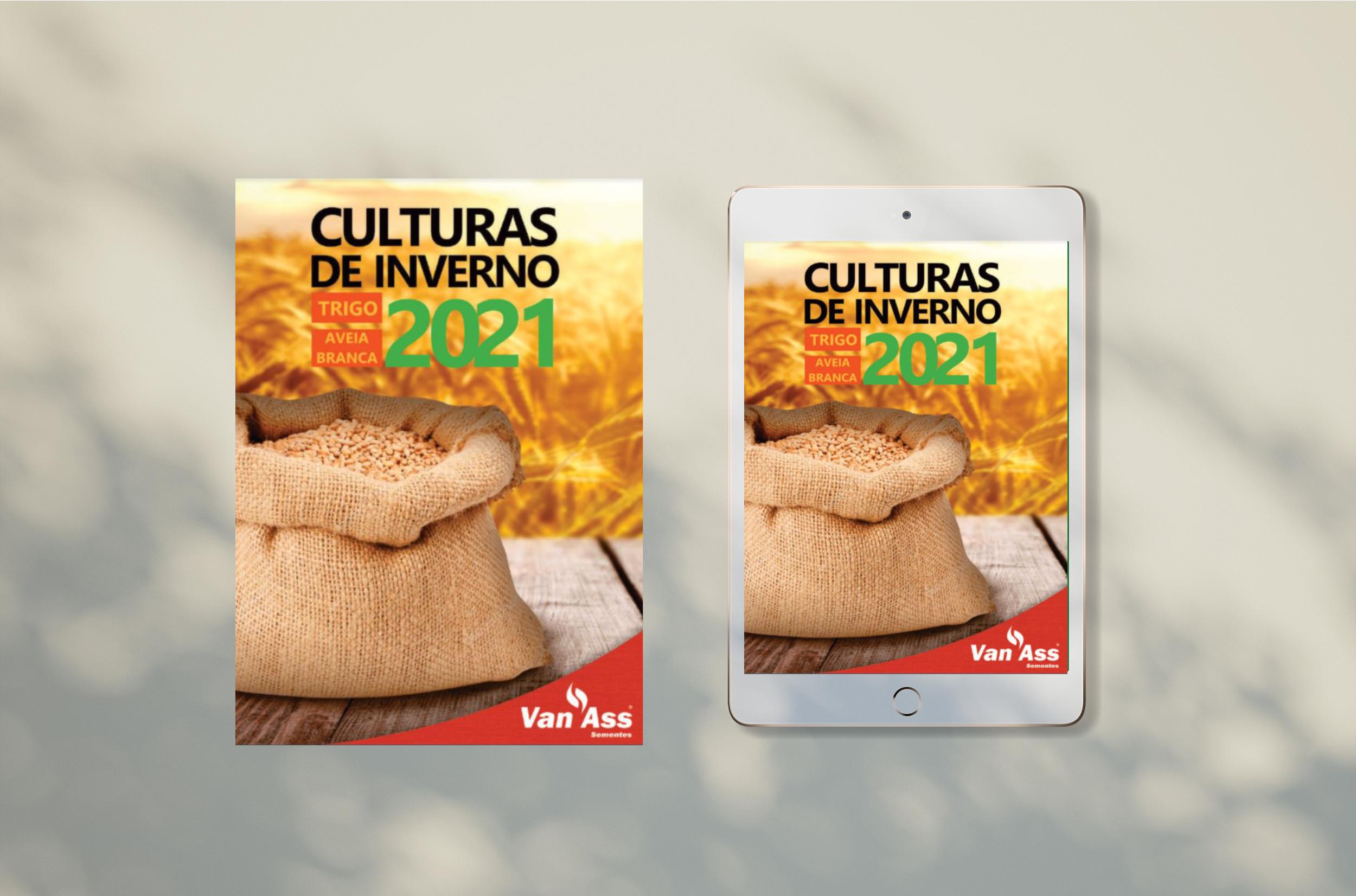 Novo catálogo 2021 de trigo está disponível